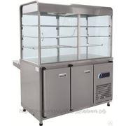 Прилавок-витрина холодильный ПВВ (Н)-70КМ-С-01-ОК фото