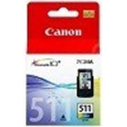 Оригинальный картридж Canon CL-511 (Canon 511) фото