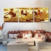 Картина по номерам ТАБУН ЛОШАДЕЙ фото