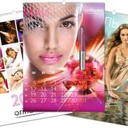 Печать настенных календарей, Киев. фото