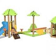 Игровой модуль песочный дворик фото