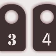 Номерки для гардероба фото