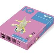 Бумага цветная iq color A4, 80г/м2, neopi-розовый NEOPI-80 фото