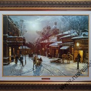 Картина Никольский переулок фото