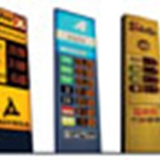 Электронные табло для АЗС - Электроника фото