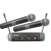 Shure PGX242/Beta58 Вокальная радиосистема с двумя ручными радиомикрофонами