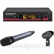 Sennheiser ew 165 G3 профессиональная вокальная радиосистема с конденсаторным радиомикрофоном фото