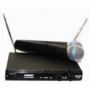 Микрофон, Радиомикрофон SHURE SM800 Микрофонная радиосистема Вокальный радиомикрофон мікрофон фото