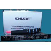 Shure SM58 LX88-III, SH-500, shure sm-58ii, UHF ut4 микрофоны, радиомикрофоны, радиосистемы,. фото