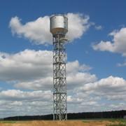 Стальные баки для бесшатровой водонапорной башни на железобетонной опоре проект 901-5-38.87 фото