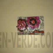 Кожаный кошелек маленького размера в три сложения H.verde 2239-D59 фото