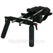 Плечевой упор PROAIM SHOULDER MOUNT + упор на грудную клетку + рельсы для Canon 5D Mark II и др. камер фото