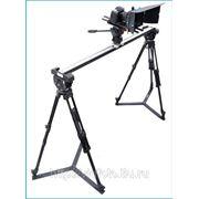 Комплект Слайдер + 2 штатива 75 мм с головой наклона 75 мм (2 шт.) + кейс (3 шт.) фото