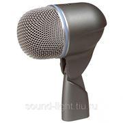 Shure BETA 52A Профессиональный инструментальный динамический суперкардиоидный микрофон для большого барабана