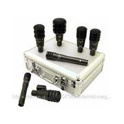 Набор инструментальных микрофонов для ударных Audix Fusion 7 фото