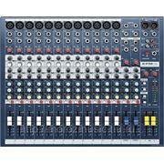 Soundcraft EPM12 микш.пульт, 12 mono + 2 stereo, 2 aux, 60мм фейдер фото
