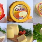 Сыр полутвердый Качотта фото