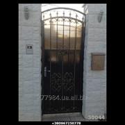 Кованные двери КД 30044 фото