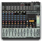 Behringer XENYX QX1222USB 12-ти канальный микшерный пульт с компрессором, процессором эффектов и USB фото