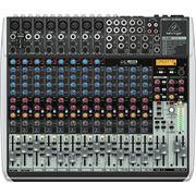 Behringer XENYX QX2222USB 22-х канальный микшер с процессором эффектов, компрессором, эквалайзером, USB фото