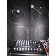 Звукоусилительный комплект 400-800W фото