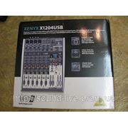 Новый микшер Behringer XENYX X1204USB фото