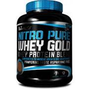 Протеин сывороточный biotech NITRO Gold 0,9 kg - темный шоколад фото