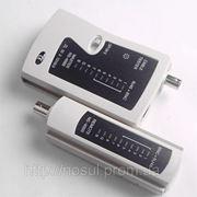 Тестер сетевой BNC/RJ45/RJ11 для витой пары и коаксиала tester LAN pair Nets TST локальной сети фото