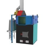 Теплогенератор горячего воздуха на твердом топливе марки ПОВ ИНКА для воздушного отопления мощностью от 100 до 5000 кВт. фото