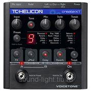 TC Helicon VoiceTone Create XT профессиональный напольный вокальный процессор эффектов фото