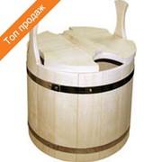 Запарник для бани и сауны деревянный на 22 литров фото