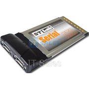 контроллер STLab STLab C-172 (PCMCIA --> 2x eSATA) фото