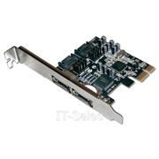 контроллер STLab STLab A-341 (PCI-E -> 2 eSATA, 2 SATA int.) фото