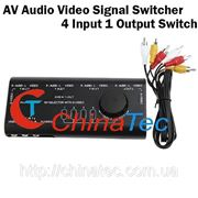Коммутатор аудио-видео сигнала фото
