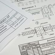 Печать чертежей и схем фото
