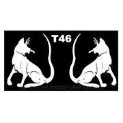 Трафарет для временных тату размер 16*9см(Т46) фото