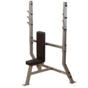 Профессиональный тренажер Body Solid Боди Солид SPB-368G скамья для вертикального жима штанги. фото