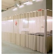 Промышленные шторы, гибкие ворота, гибкие завесы, шторы для автомойки фото