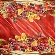 Салфетка для декупажа Натюрморт с фруктами фото