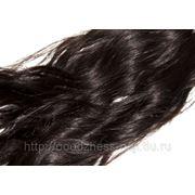Волосы CNBH 100% натур. на ленте 02 темный шатен 60см. фото