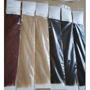 Славянские волосы на заколках 70 см Светло каштановый фото
