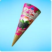 Мороженое Империя йогурт-ежевика фото