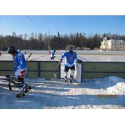 Хоккейная Коробка стеклопластик стандартная 30х60 фото