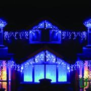Светодиодные гирлянды и световая иллюминация фото