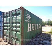 Контейнер 20 фут б/у Владивосток фото