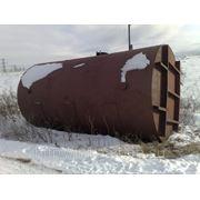 Цистерна железнодорожная без тележки из черного металла 200м3 б\у фото