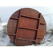 Цистерна железнодорожная без тележки из черного металла б/у 60м3 фото
