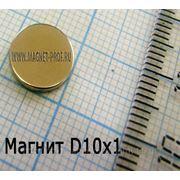 Магнит для сувениров 10х1 мм. фото