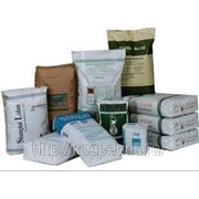Бумажные мешки под строительные смеси фото