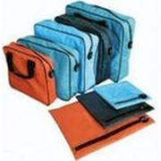 Сумка МПС-0007 /290*240*50 мм с ручками, объемная, для документов, под пломбу фото